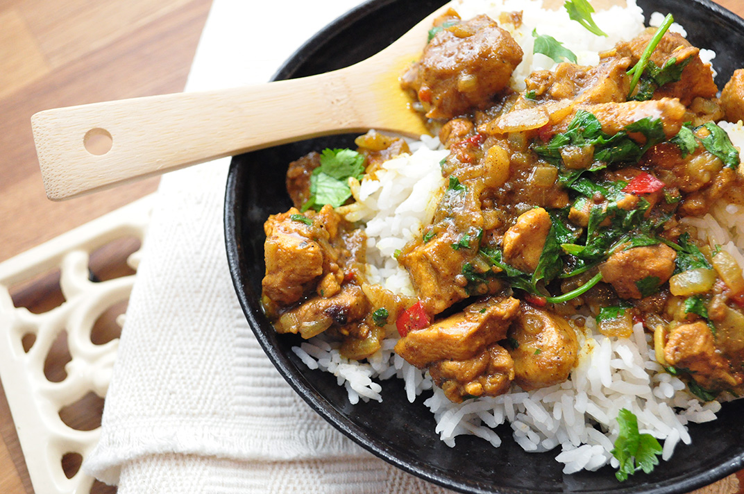 Chicken Vindaloo | Jenna's Everything Blog